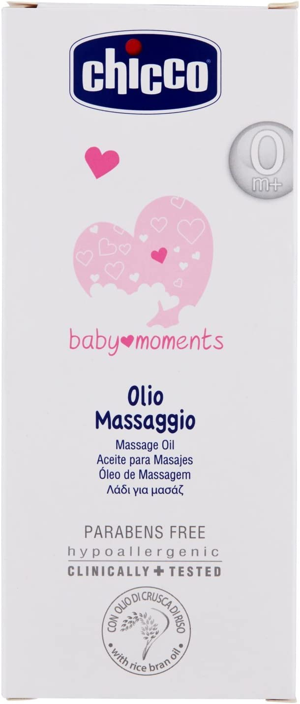 Chicco Baby Moments Massage Oil 200Ml