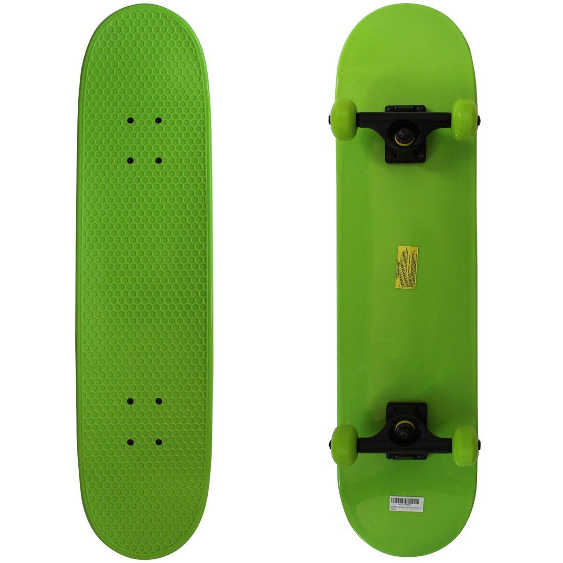 RIMABLE Kids Plastic Complete Skateboard Lemongreen