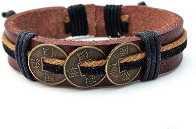 bracelet cuir tibetain