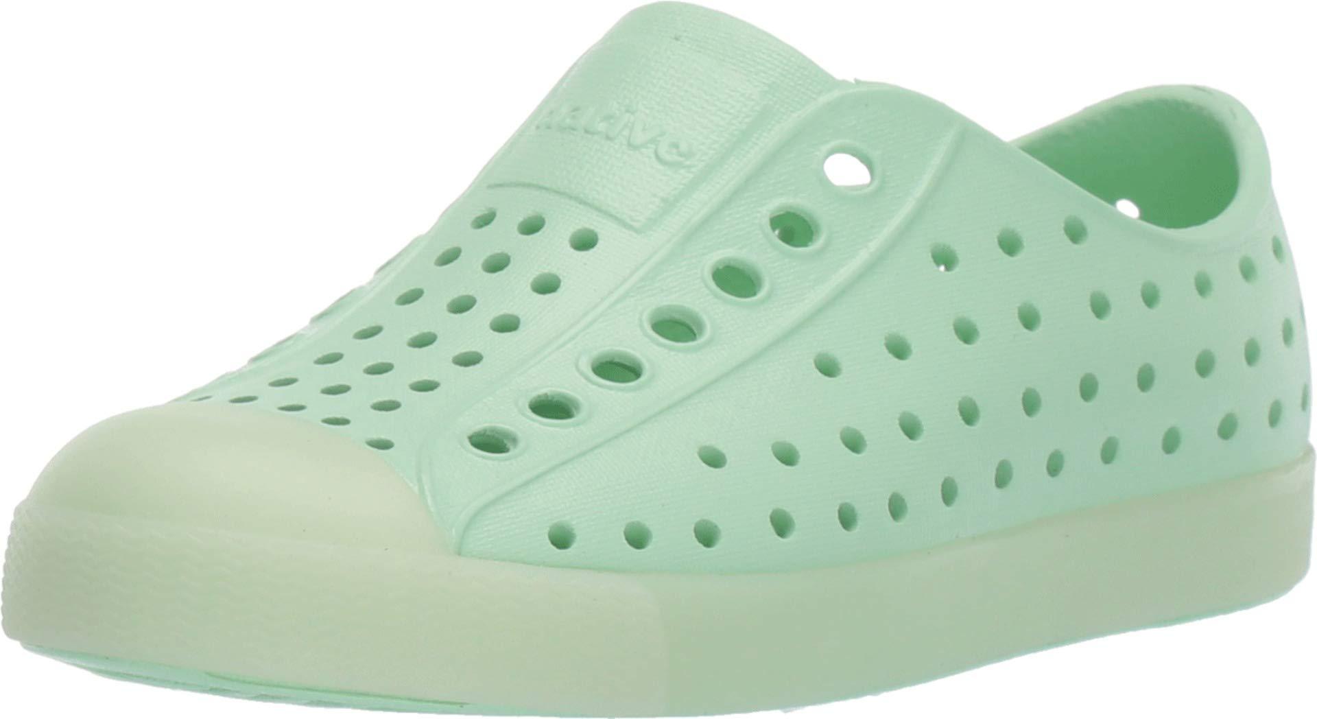 Native Kids Shoes Baby Girl's Jefferson (Toddler/Little Kid) Celtuse Green/Glow 4 M US Toddler