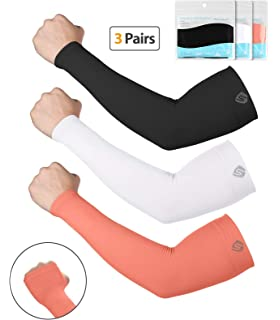 Sports Accessories Practical 1 Pair Outdoor Elbow Uv Protection Arm Cover Support Pad Long Sunshade Protector Warmer Cycling Sportswear Accessories Selling Well All Over The World