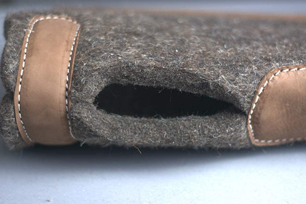 30X39 Made In Usa Wool Felt Horse Western Saddle Pad 3//5 Treeless Hilason U-3039