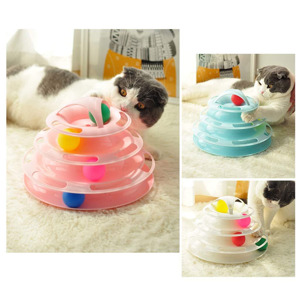 Qintaiourty Juguete para Gatos, Juguete Interactivo Creativo de ...
