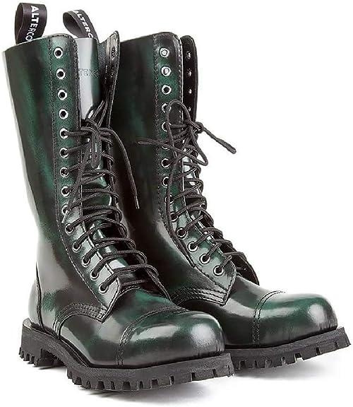 Bottes Déteindre Vert Noir 552 Militaire Altercore Rangers sQdChtr