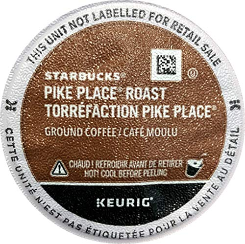 Starbucks Pike Place Roast Coffee K Cup 108 Count, Packaging May Vary