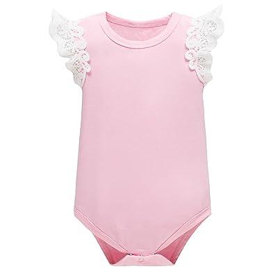Yatong Baby Girls Bodysuit Onesies Baby Romper