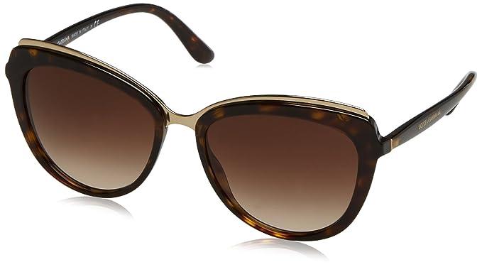 DOLCE & GABBANA 0Dg4304 gafas de sol, Havana, 57 para Mujer