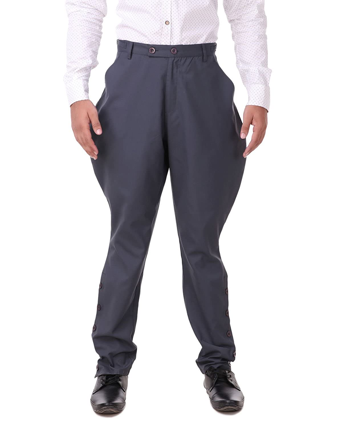 Victorian Men's Costumes: Mad Hatter, Rhet Butler, Willy Wonka ThePirateDressing Steampunk Victorian Cosplay Costume Mens Archibald Jodhpur Pants Trousers C1326 $49.95 AT vintagedancer.com