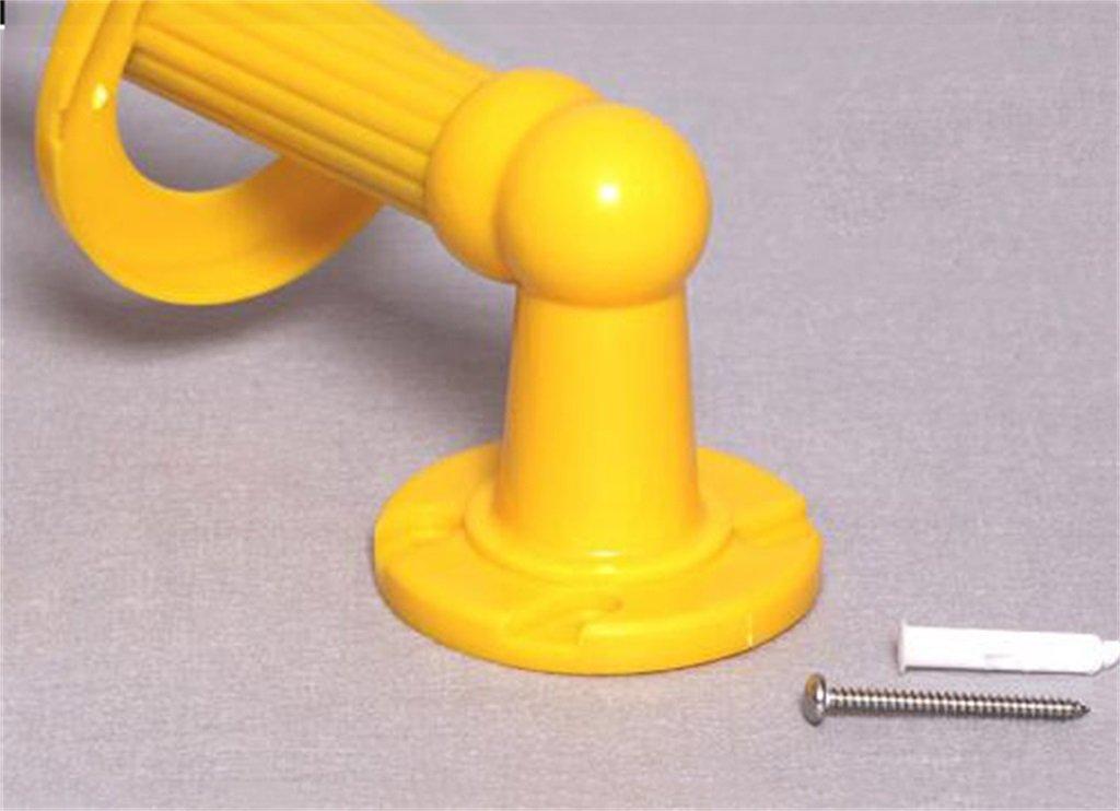 Carril de Soporte de baño Espacio Aluminio Antideslizante Viejo Aseo Baño Persona con Discapacidad Barrera Barandilla Manija para Niños para Ducha/baño ...