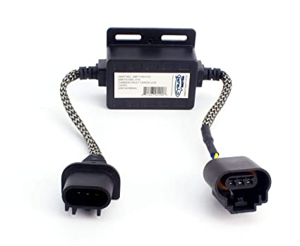 Cyron Car Truck Active Digital EMI Noise Filter/Eliminates ELOG  Interference, CB-Radio, Marine Radio, CAN-Bus Warning Error Canceller LED