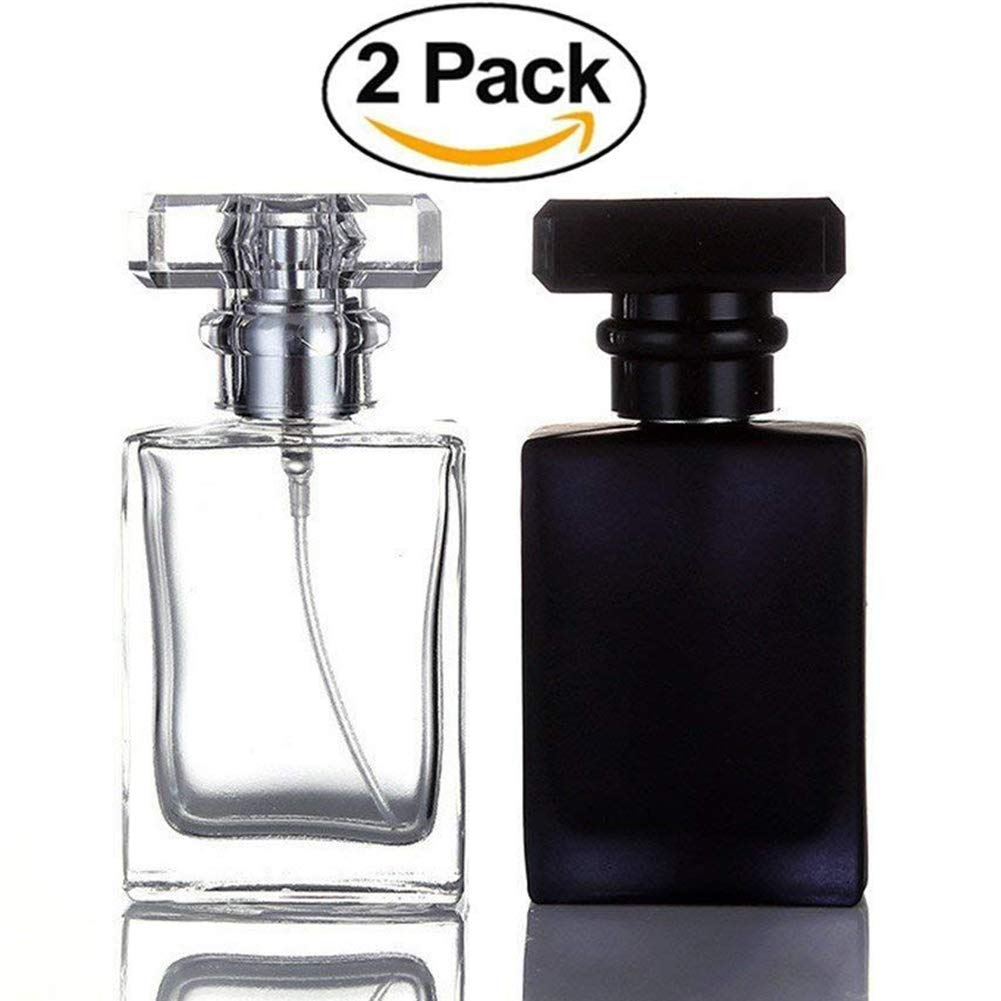 Futureup 6 Pack - 5ml Mini Refillable Perfume Atomizer Bottle for Travel Spray Scent Pump Case, Multicolor