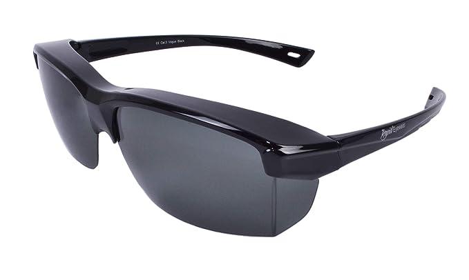 f6c6b9d98e Rapid Eyewear 'Vogue Black' SUR-LUNETTES DE SOLEIL polarisantes pour hommes  et femmes