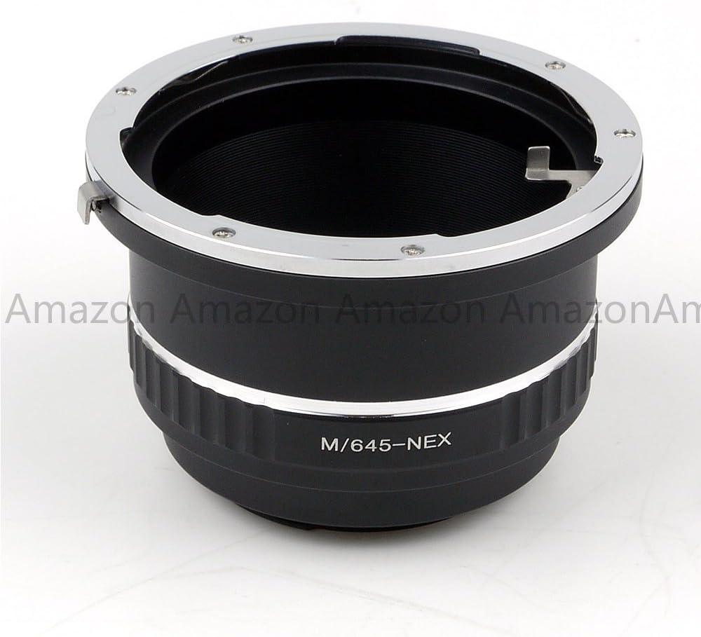Pixco Pro Lens Mount Adapter for Mamiya 645 Lens to Sony E Mount NEX Camera Sony Nex7 Nex5 Nex3 Vg10