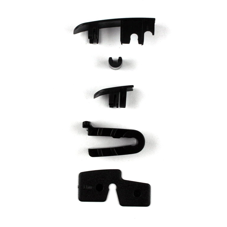 Multi-Clip Heckwischer 425mm Heckscheibenwischer PREMIUM Scheibenwischer HECK Hinten AERO Wischerblatt mit aerodynamischer Spoiler ohne sichtbaren Metallb/ügel INION/® SET