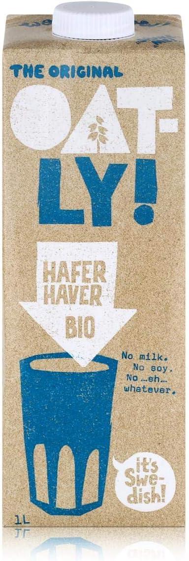Oatly Leche de Avena Bio 1000 ml: Amazon.es: Alimentación y bebidas
