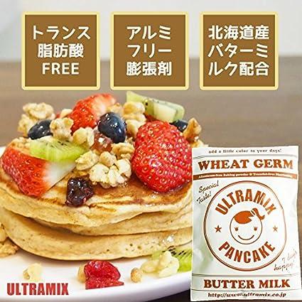 germen de trigo Mezcla Ultra contiene suero de leche Hokkaido mezcla para panqueques 200g: Amazon.es: Alimentación y bebidas
