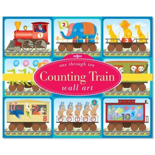 Eeboo Counting Train Wall (Eeboo Wall Cards)