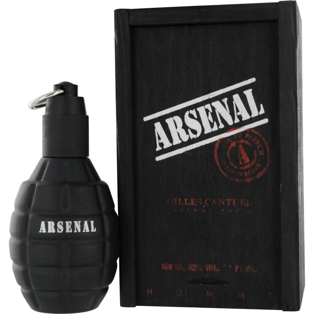 Gilles Cantuel Arsenal Eau De Parfum Spray for Men, Black Cantuel, 3.4 Ounce