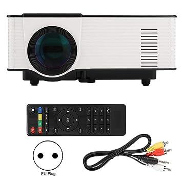 Wendry Proyector de Video, proyector de películas portátil HD ...
