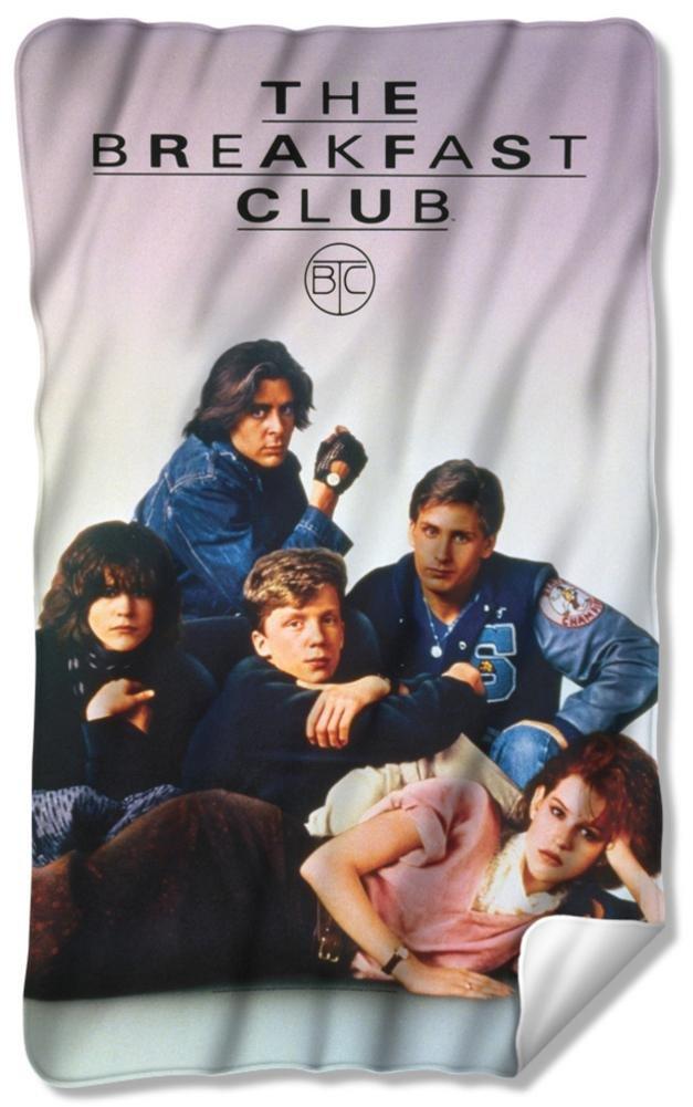 Breakfast Club - Poster Fleece Blanket 35 x 57in by Breakfast Club (Image #1)