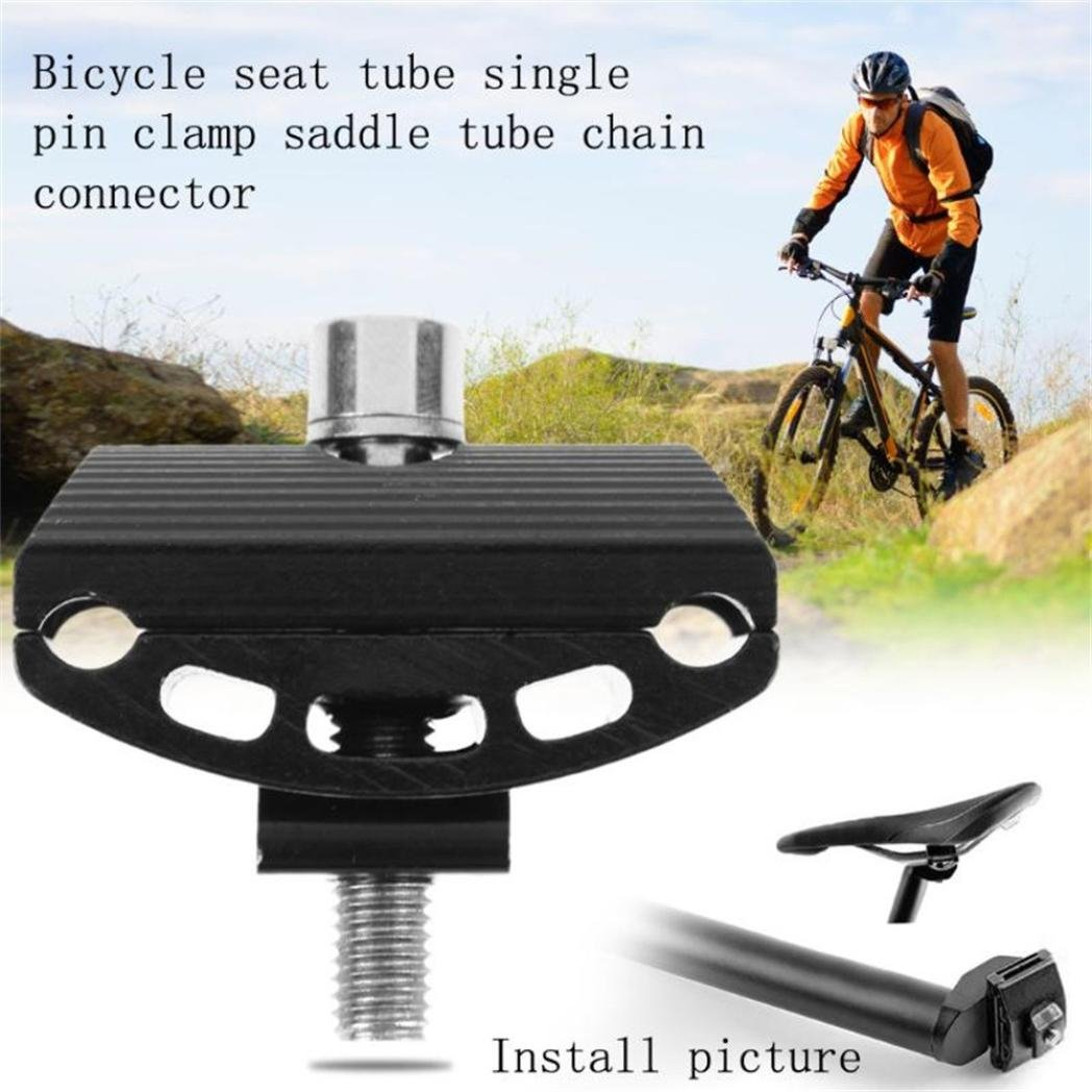 Bicycle Screw Seat Tube Riders Sit Pipe Chuck Tool Bike Seat Post Head RD