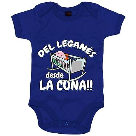 Body bebé del Leganés desde la cuna fútbol - Azul Royal, 6-12 meses
