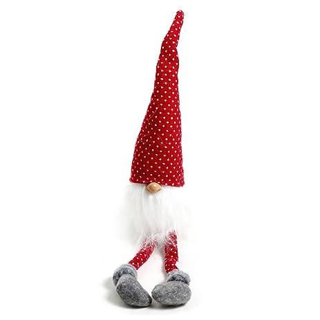 Handmade swedish tomtesanta scandinavian gnome plush christmas gift birthday present home