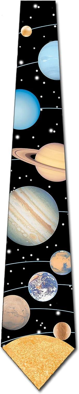 Solar System Tie Mens Planets Astrology Necktie