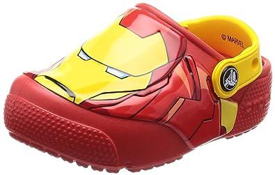 c0da4958d62b9 Crocs Kids Baby Boy s FunLab Iron Man Lights Clog (Toddler Little Kid) Flame