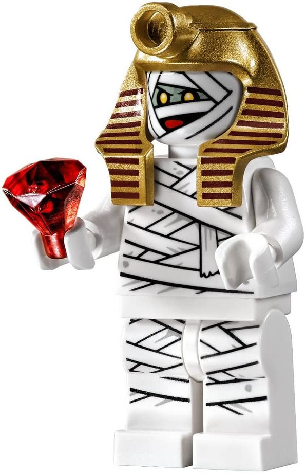 LEGO Scooby Doo Mummy Minifigure with Headdress