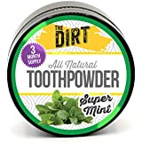 The Dirt - All Natural Tooth Powder For Organic Teeth Whitening