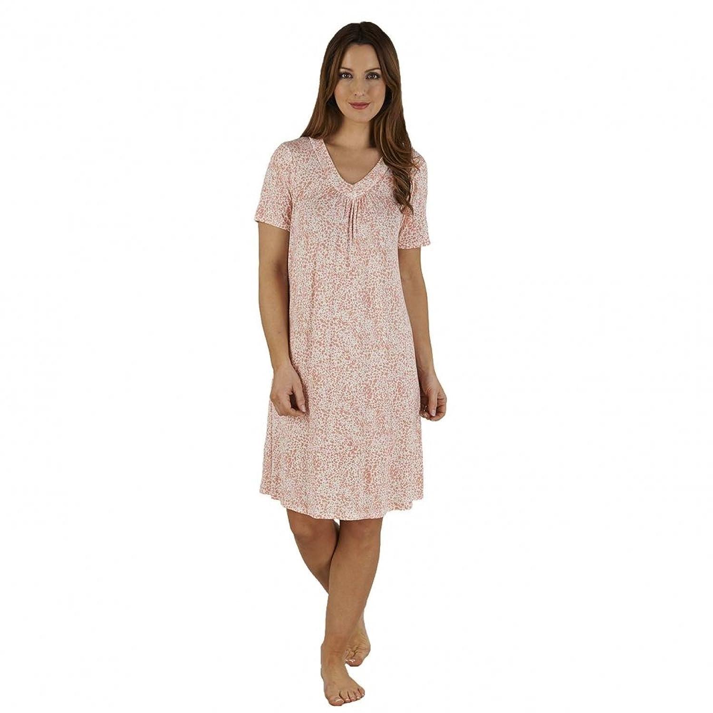 Slenderella Short Sleeve V-neck Nightdress