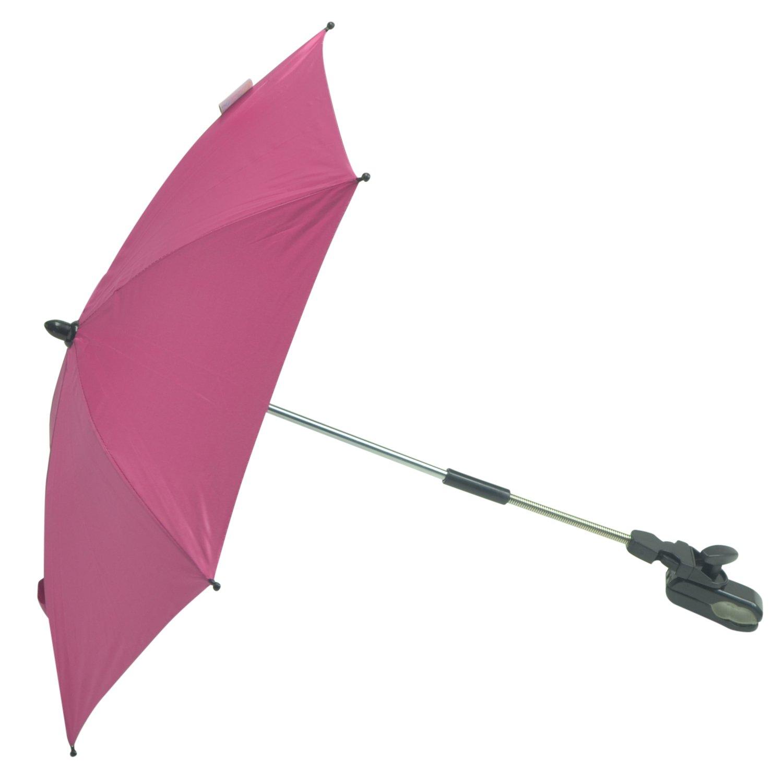 For-your-Little-One Parasol Compatible avec Babycare par orchestre Trio Combi Rose vif