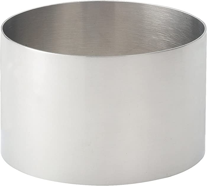 HIC Food Ring, 18/8 Stainless Steel, 3.5