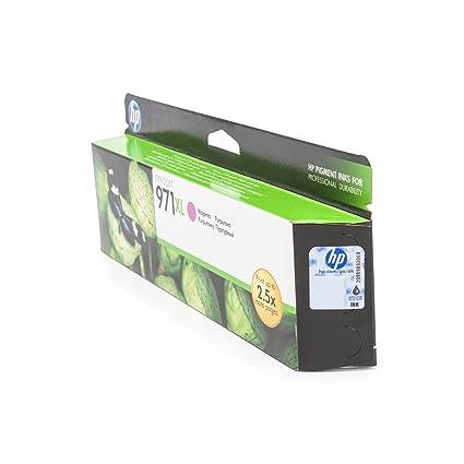 HP 971XL - Cartucho de Tinta para impresoras (Magenta, 6600 ...