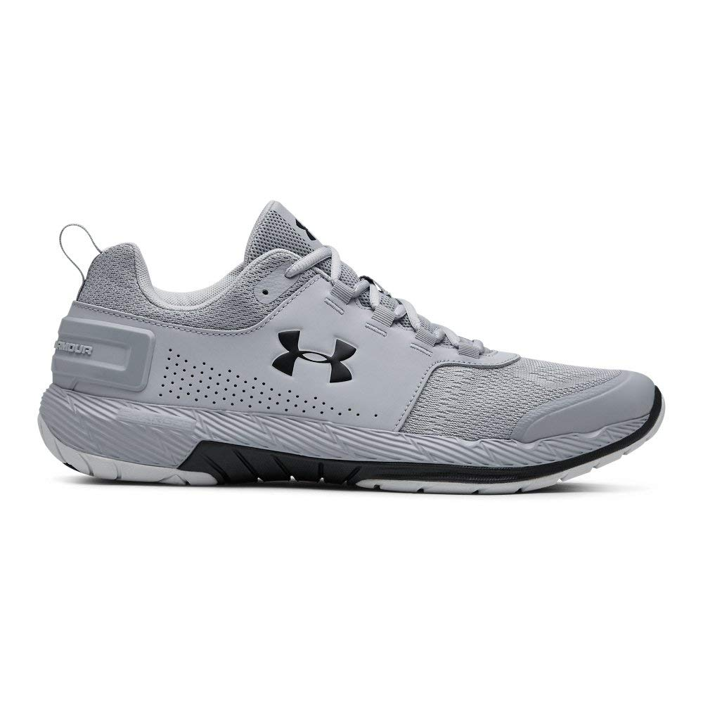 Under Armour Men's Commit TR EX Sneaker Mod Gray (109)/Black 7 M US by Under Armour (Image #1)