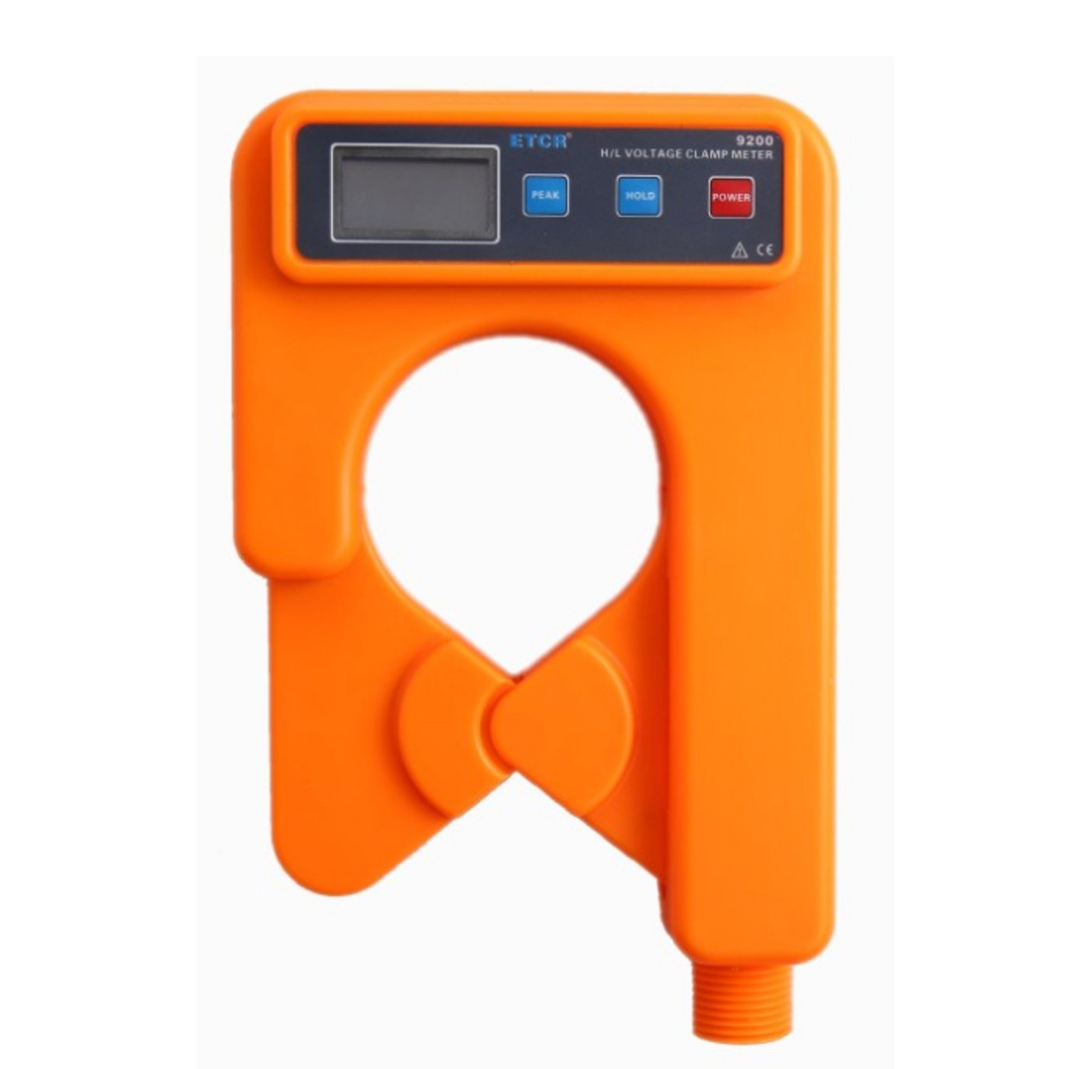 Lanlanmaoyimg Ammeter High/Low Voltage Clamp Current Meter,AC 0.00mA~1000A,99 Data Storage ETCR9200 Precision Measurement