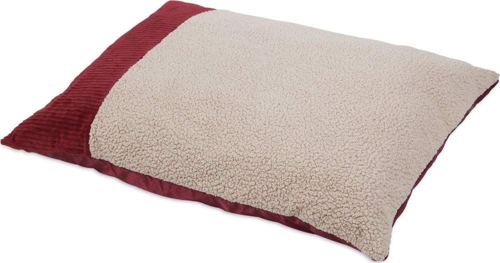 Red 27 X 36\ red 27 X 36\ Aspen Pet 27 X 36 Self Warming Knife Edge Pillow Bed Barn Red
