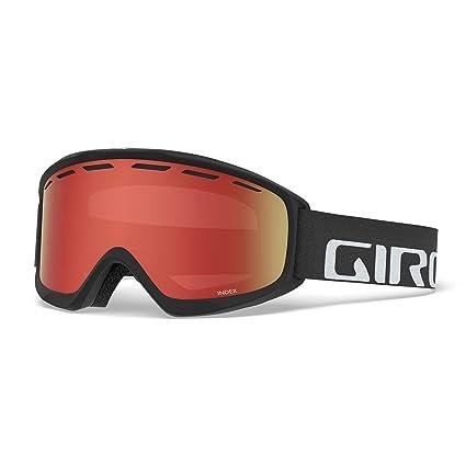 0fff1a99104 Amazon.com   Giro Index OTG Snow Goggles Black Wordmark - Amber ...