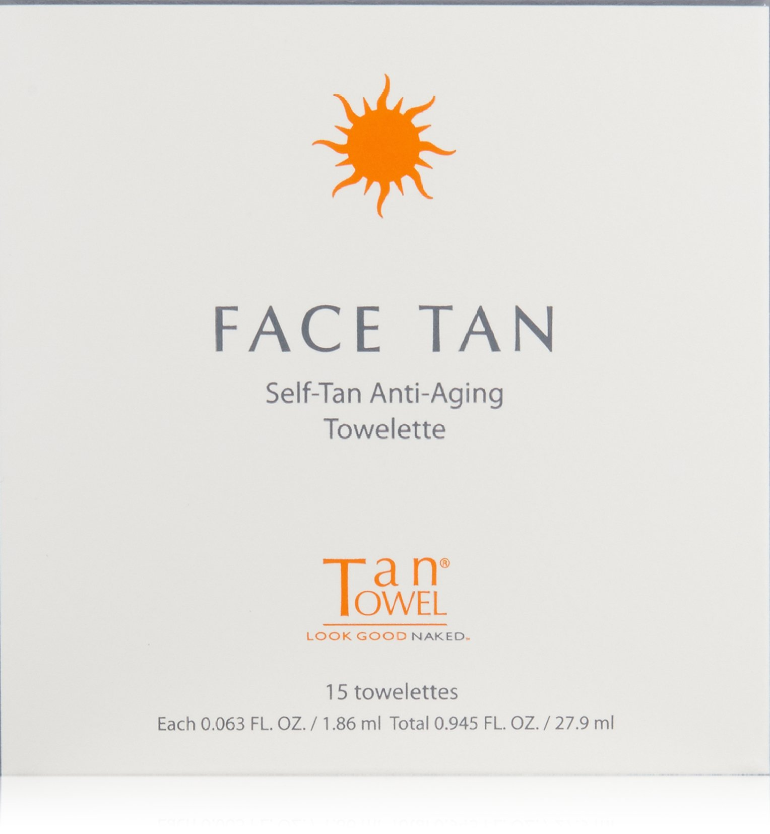 Tan Towel Face Tan, 15 Count by Tan Towel