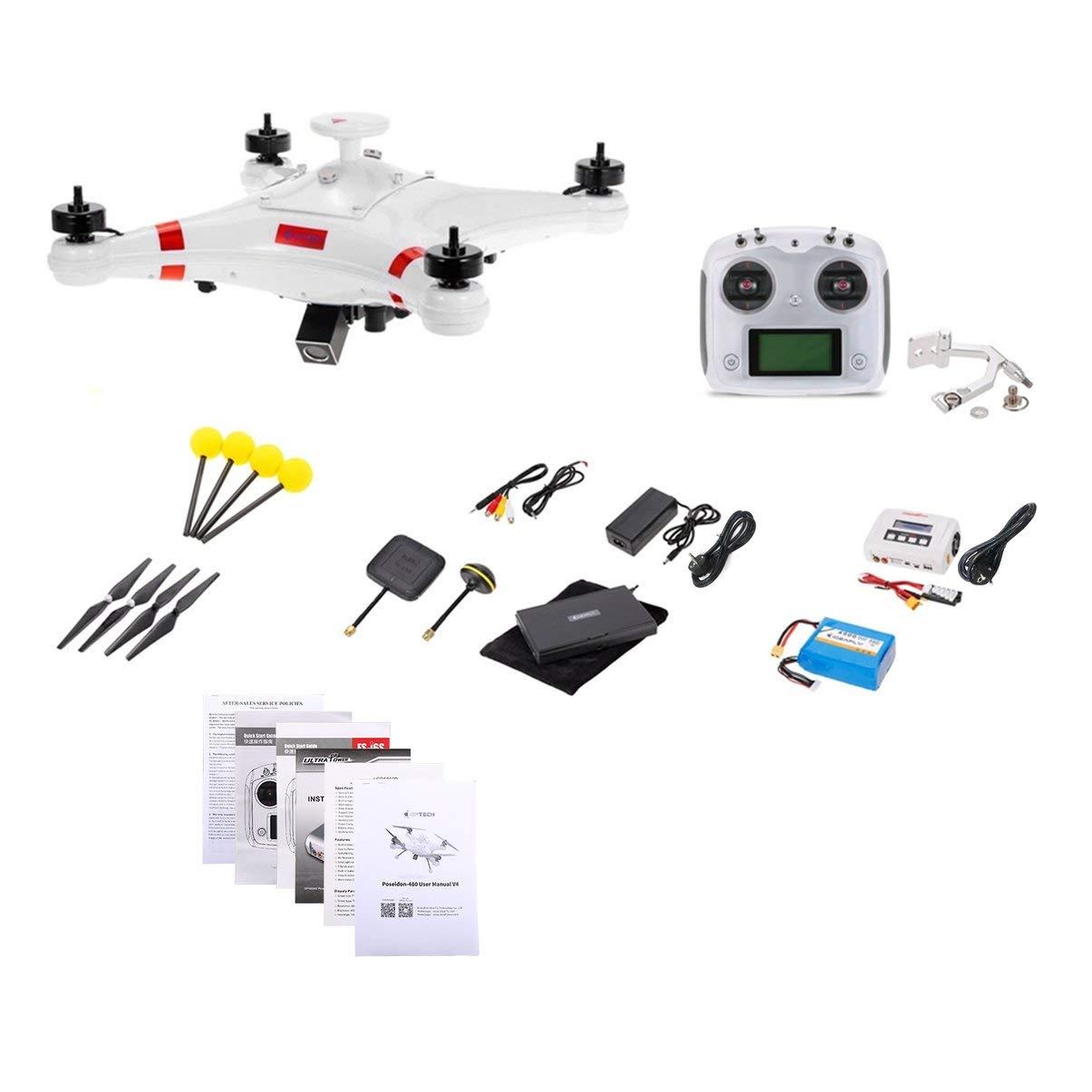 JullyeleDEgant H480 Brushless 5.8G FPV 700TVL Kamera GPS Quadcopter Flugzeug UAV mit OSD Wasserdicht Professionelle Fischerei RC Drohne