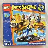 Lego Jack Stone Aqua Res-q Transport 4606