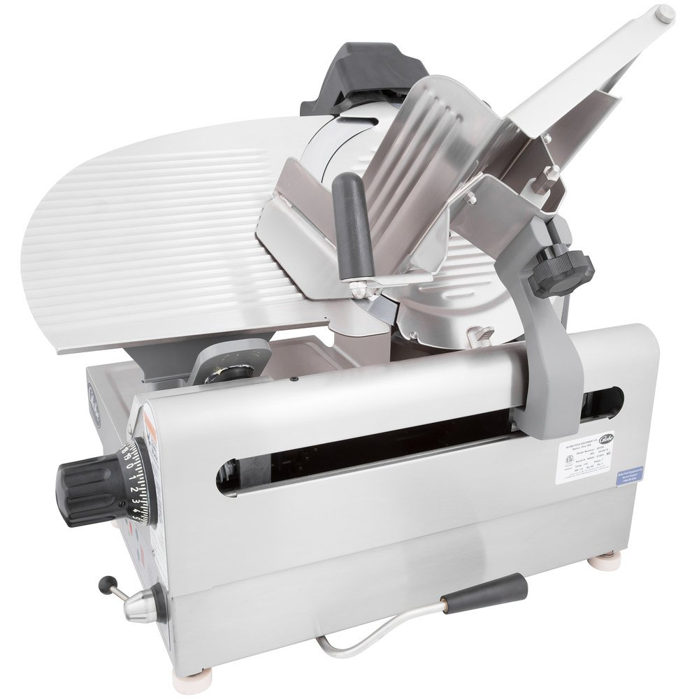 Globe 3850N 13-Inch Heavy-Duty Automatic 2 Speed Slicer, 1/2-hp Motor by Globe Food Equipment