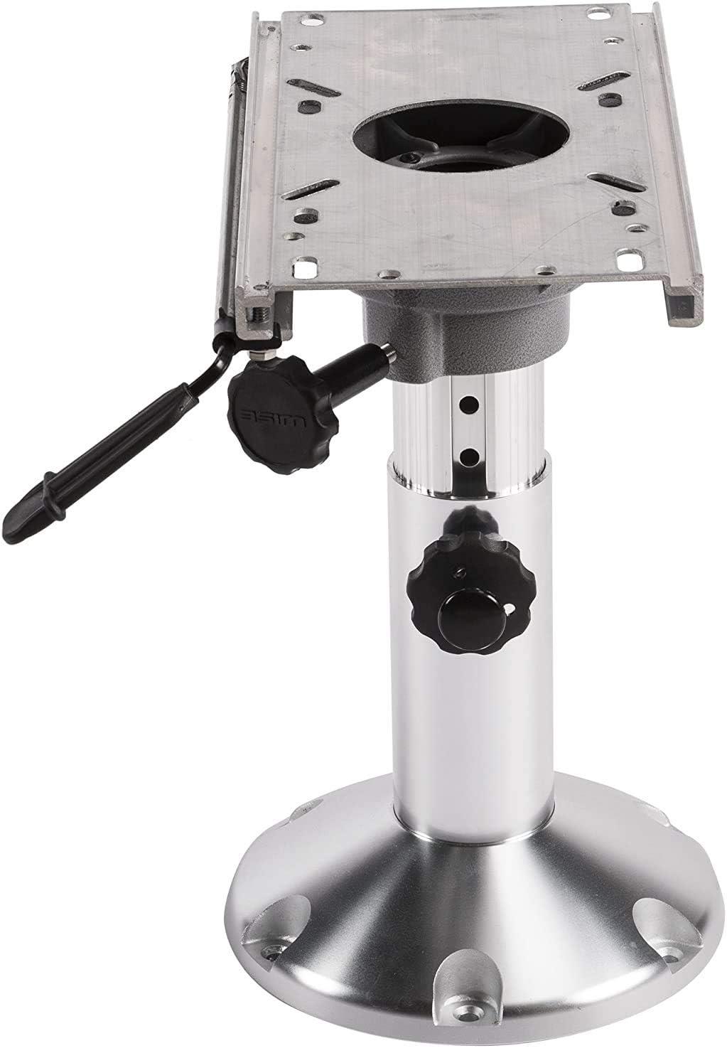 Wise 8WP21-374 Adjustable Pedestal with Slide,Silver