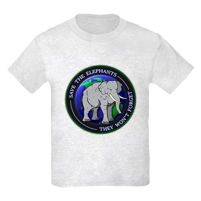 c84bf8ce965f7 Amazon.com  CafePress - Save The Elephants Dark T-Shirts T-Shirt ...