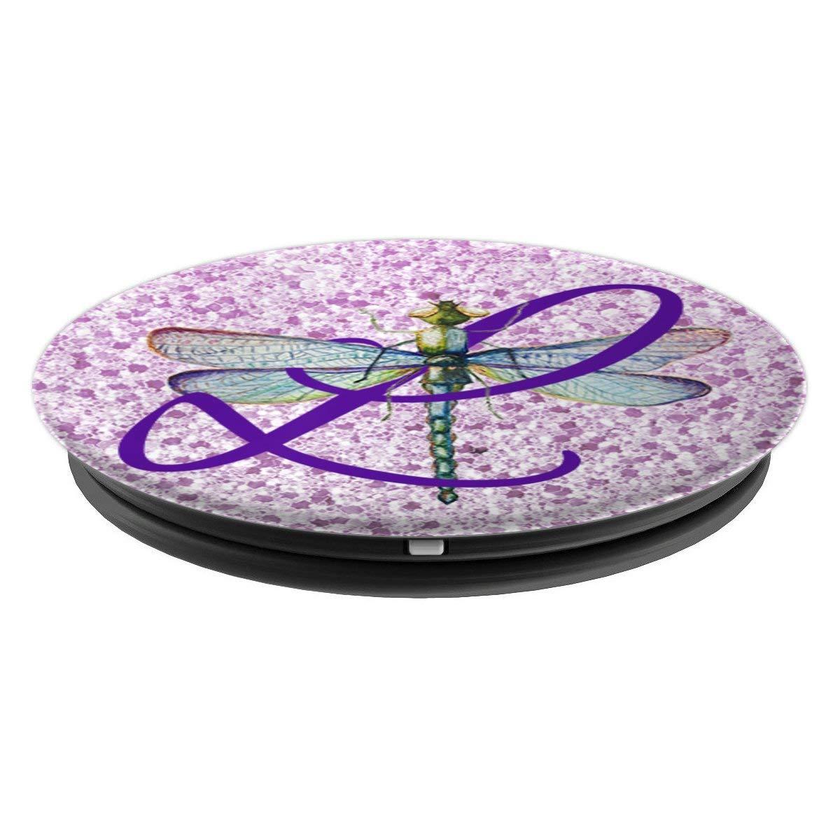 Amazon.com: Letra del alfabeto morado L Inicial sobre lila ...