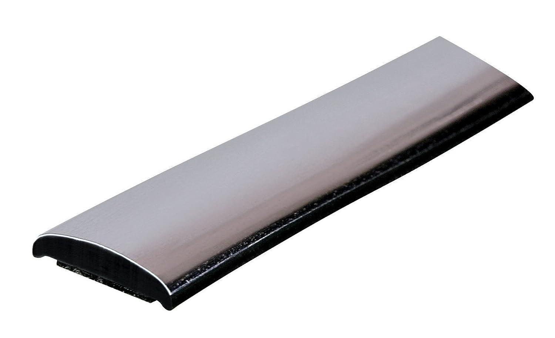 Lampa - Perfil Adhesivo Cromado, Color Negro, Modelo 20888, 4 mm x 4 m: Amazon.es: Coche y moto