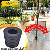 Myard MP UW38 Umbrella Cone Wedge Spacer fits Patio Table Hole Opening or Base 2 to 2.5 Inches, Umbrella Pole Diameter 1-1/2 Inches