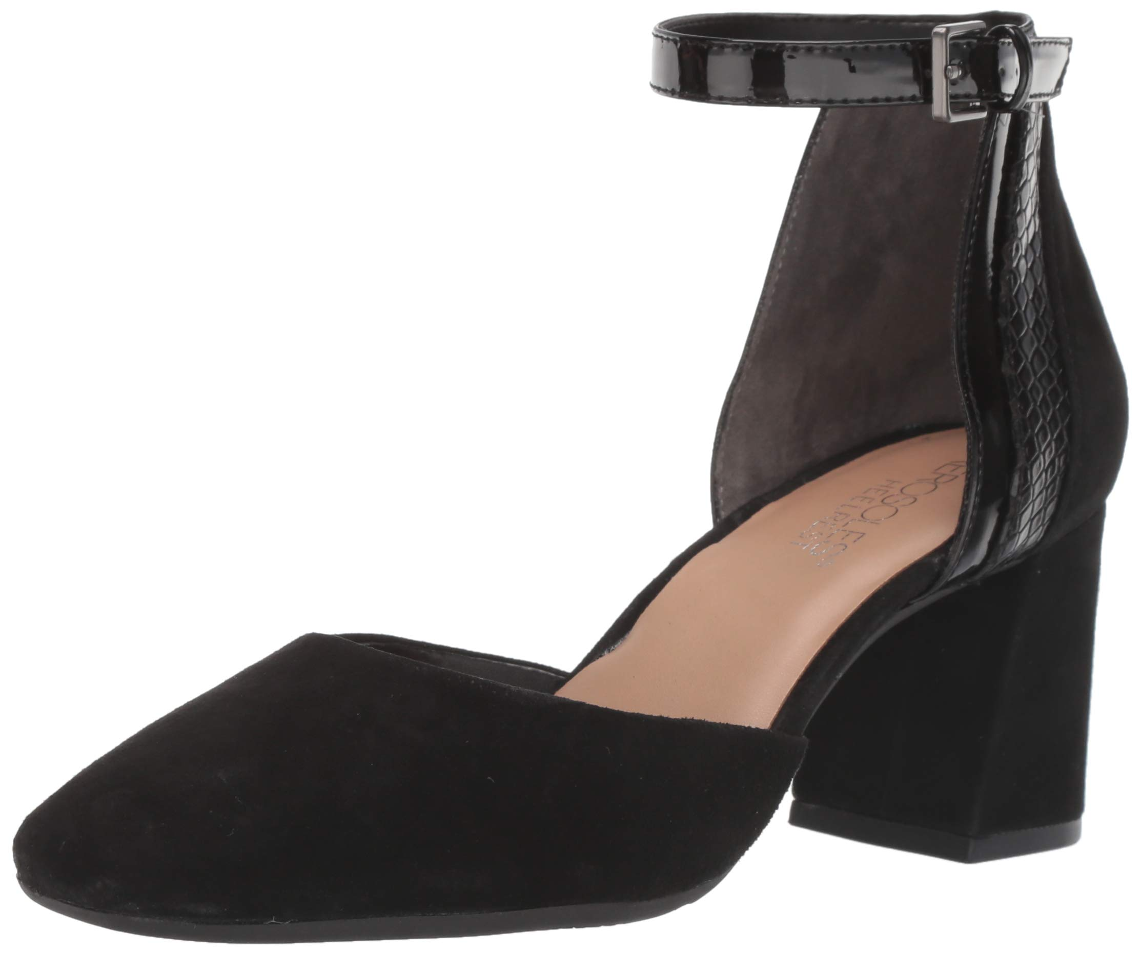 Aerosoles Women's Honor System Pump, Black Suede, 9.5 M US by Aerosoles