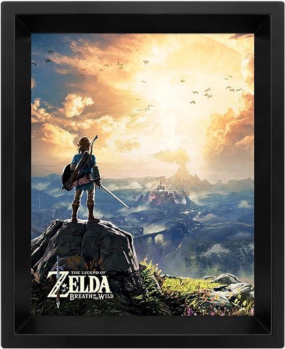 The Legend Of Zelda - Poster 3D Sunset: Amazon.es: Hogar